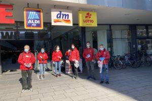 Bild 1: Aktionsstart der SPD Mitglieder zur Frühjahrsputz-Aktion